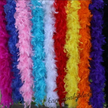 Карнавальный шарф Боа, цвета микс