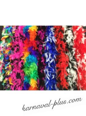 Карнавальный шарф Боа двухцветный, микс