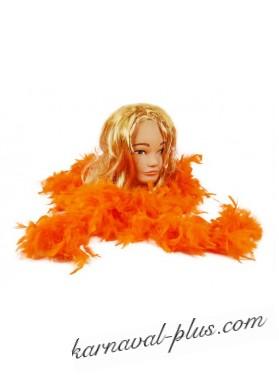 Карнавальный шарф (Боа) оранжевое
