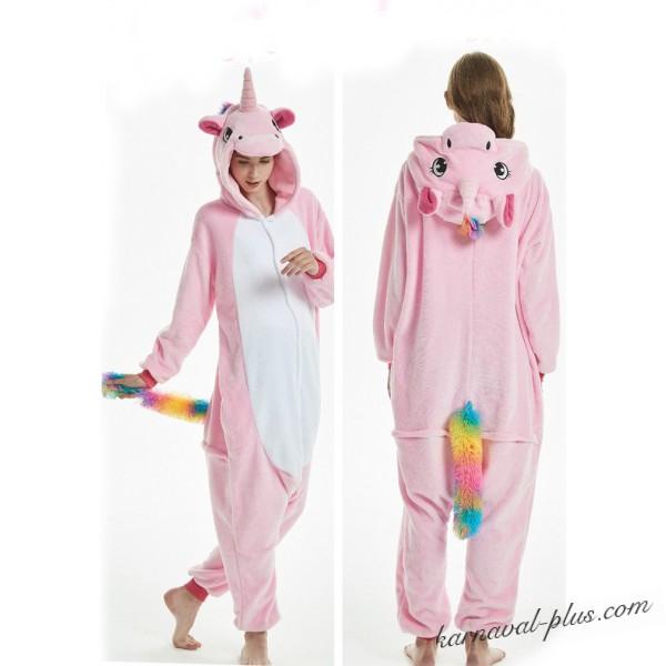 Пижама розового единорога купить. Костюмы Кигуруми единорогов для ... 3b1692f7515f5