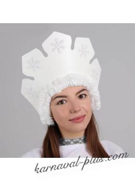 Кокошник Снежная королева
