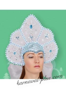 Зимняя корона , голубая