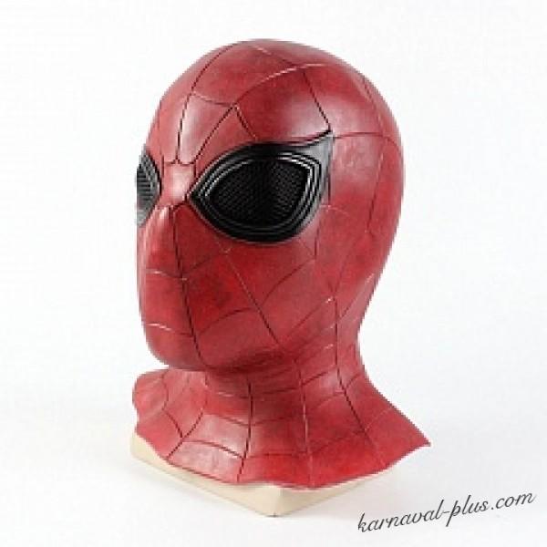 Карнавальная маска Спайдермен. Маска Человек паук купить ...