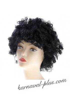 Карнавальный парик Афро черный, негр
