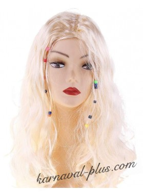 Карнавальный парик Бусинки
