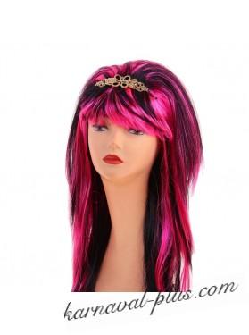 Карнавальный парик Диско с заколкой