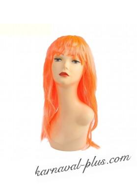 Карнавальный парик Красотка, оранжевый