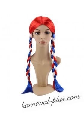 Карнавальный парик Россиянка