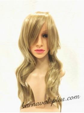 Карнавальный Премиум парик с челкой, цвет русый