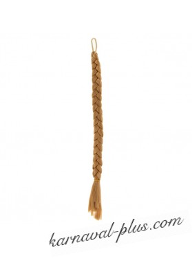 Коса на резинке Блондинка, длина 47 см