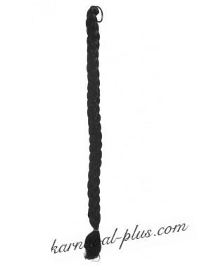 Коса на резинке Брюнетка