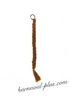 Коса на резинке Русый, длин. 47 см