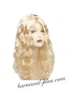 Парик Блондинка длинные волнистые волосы