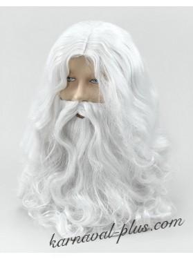 Парик и борода волшебника