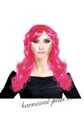 Парик Романтичный розовый