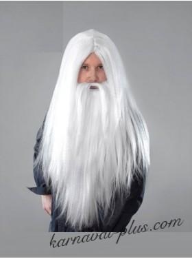 Парик Волшебника с бородой