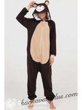 Пижама-кигуруми Футужама Бурый мишка
