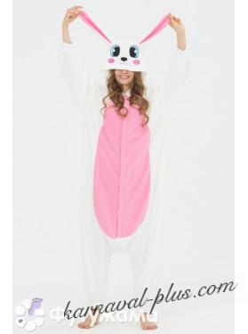 Пижама-кигуруми Футужама Заяц розовый