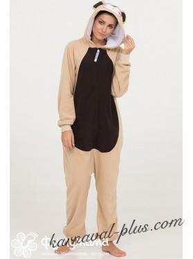 Пижама-кигуруми Футужама Бежевый Мишка