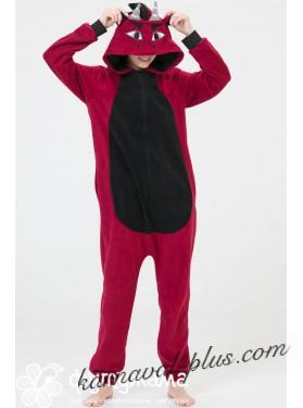 Пижама-кигуруми Футужама Дракон красный