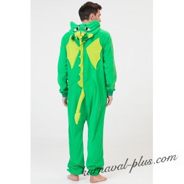 Пижама-кигуруми Футужама Дракон Зелёный