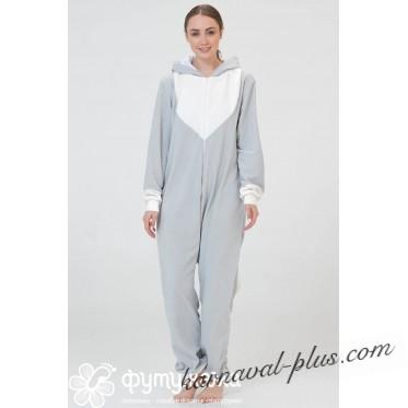 Пижама-кигуруми Футужама Серый кот