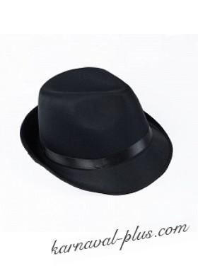 Карнавальная шляпа Джентельмен/Гангстер, (Трилби)