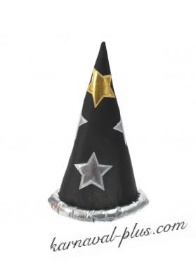 Карнавальный колпак Волшебника/Звездочета, цвета микс