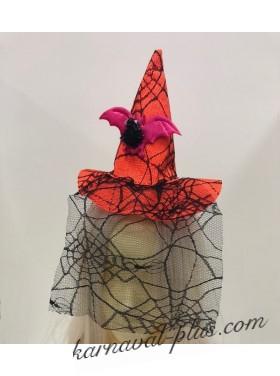 Карнавальный колпак с Летучей мышью на ободке