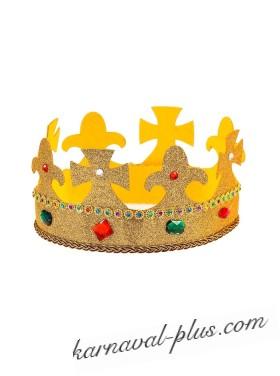 Корона Король/Царь с блестками