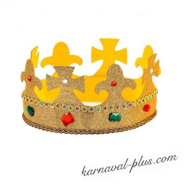 Корона Царь с блестками