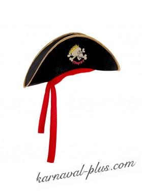 Шляпа пирата Веселый череп