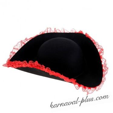 Карнавальная шляпа Пиратка