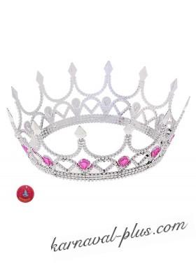 Венец королевы серебристый\золотой