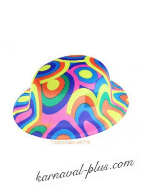Карнавальная шляпа Цветные круги