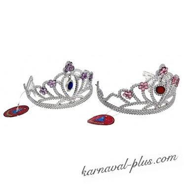 Корона с подвеской Цветочек, цвета