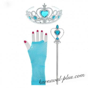 Набор Принцесса Эльза 3 предмета.