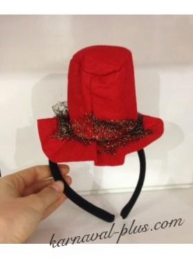Ободок Шляпка Ведьмочки