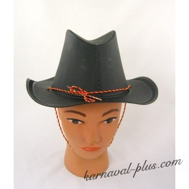 Шляпа Ковбоя чёрная детская