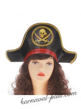 Шляпа пирата, картон