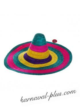 Шляпа Сомбреро многоцветная