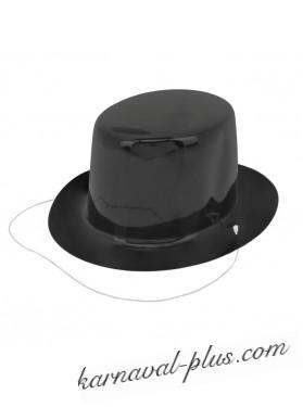 Шляпка мини Черная