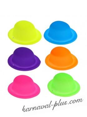 Шляпка МИНИ эпатаж, цвета микс\.пластик