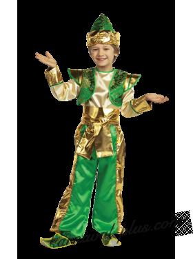 Костюм Аладдин, зеленый