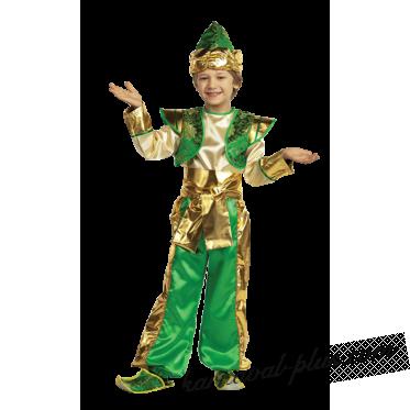 Костюм Алладин, зеленый