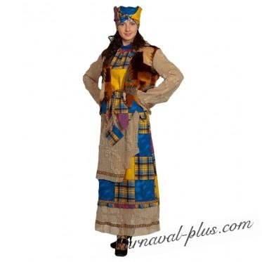 Карнавальный костюм Баба Яга взрослый