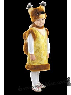 Карнавальный костюм Белка Стрелка