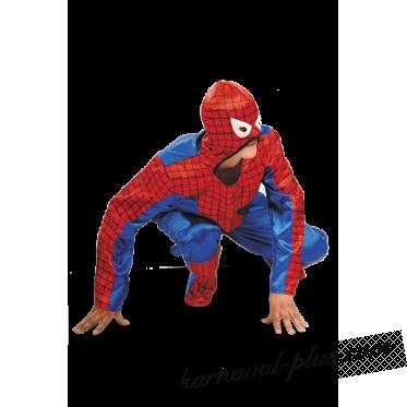Костюм Человек-паук мужской атлас