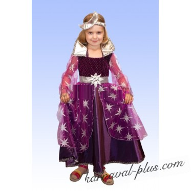 Карнавальный костюм Фея Ночи фиолетовая