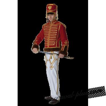 Карнавальный костюм Гусар белый